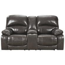 Hallstrung Power Reclining Loveseat With Console