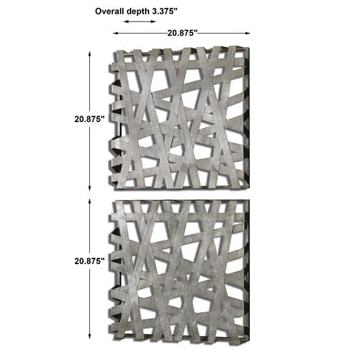 Product Image - Alita Metal Wall Decor, S/2