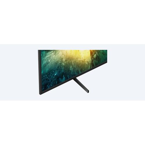 X750H  LED  4K Ultra HD  High Dynamic Range (HDR)  Smart TV (Android TV)