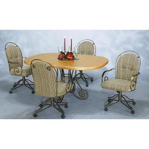 Table Base: Pedestal (metal)