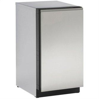 """Stainless Handleless Panel 18"""" Solid - Stainless Steel"""