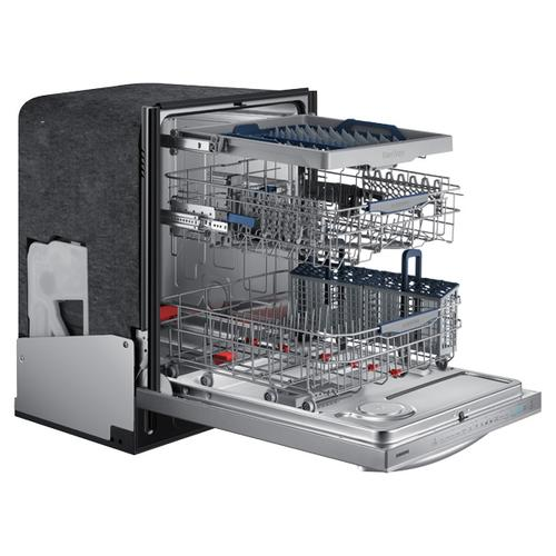 Samsung - DW80H9950US Top Control Dishwasher with WaterWall Technology