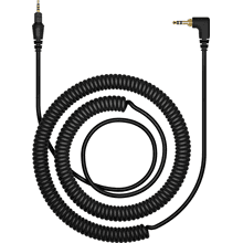 47.24 in coiled cable for the HDJ-X7 headphones