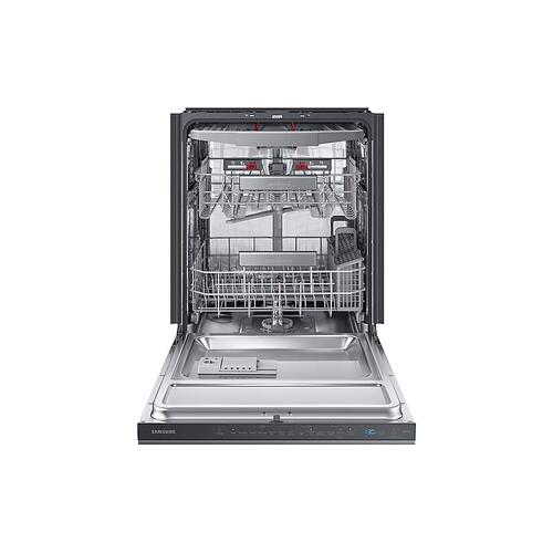 Smart Linear Wash 39dBA Dishwasher in Black Stainless Steel