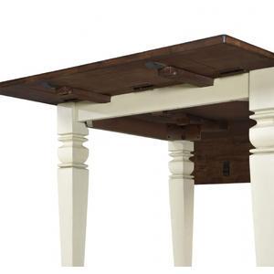"St. Pete Drop Leaf Leg Table W/2"" Drop Leaves"