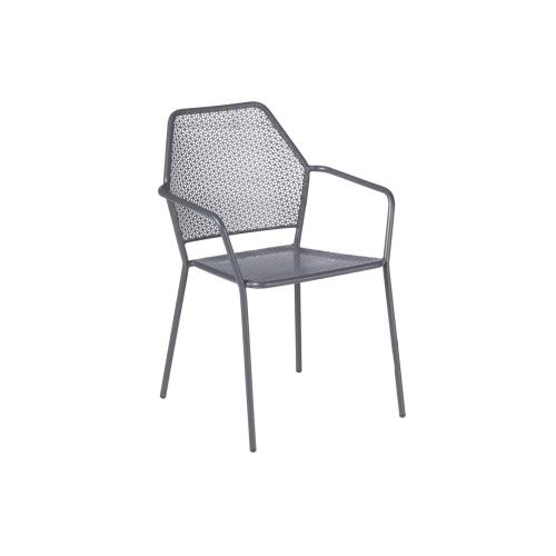 Alfresco Home - Martini Iron Stackable Bistro Chair Pencil Point