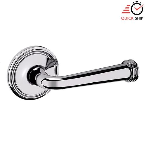 Baldwin - Polished Chrome 5116 Estate Lever with 5070 Rose