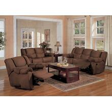 "PADDED ROCKER RECLINER 40""X41-1/2""X38""H"