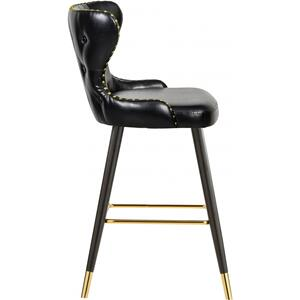 """Hendrix Faux Leather Bar  Counter Stool - 20"""" W x 23"""" D x 40"""" H"""