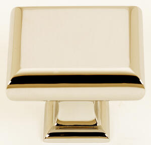 Manhattan Knob A310-45 - Polished Brass Product Image