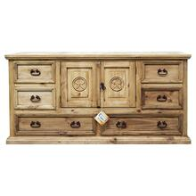 2 Door 6 Drawers Dresser Star