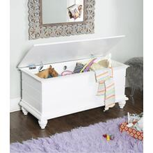 Storage Space Cedar Chest, White