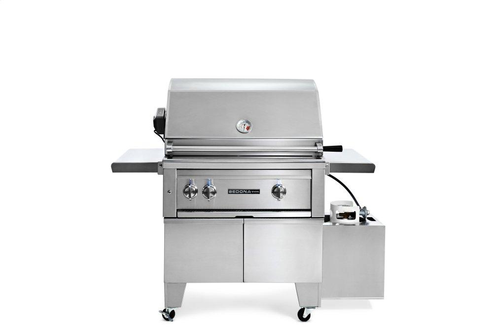 """Lynx30"""" Ada Grill With Rotisserie Lp"""