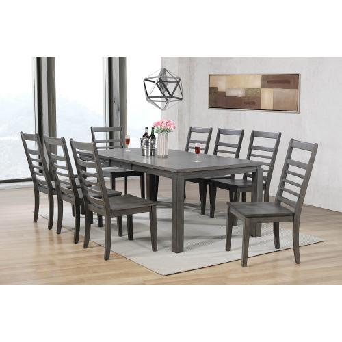 Product Image - Dining Set - Shades of Gray (9 Piece)
