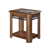 See Details - Sliding Top Chairside End Table