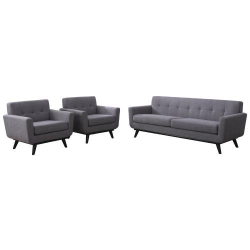 Tov Furniture - James Grey Linen Sofa