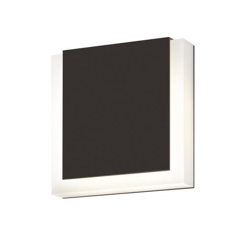 Sonneman - A Way of Light - SQR LED Sconce [Color/Finish=Textured Bronze]
