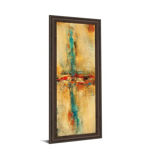 """Equilibrio Il"" By Nancy Villarreal Santos Framed Print Wall Art"