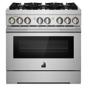 "36"" RISE™ Dual-Fuel Professional-Style Range"