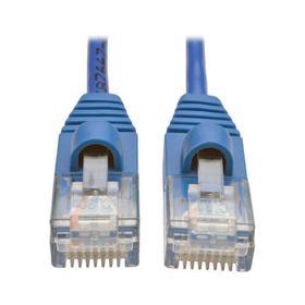 Cat5e 350 MHz Snagless Molded Slim (UTP) Ethernet Cable (RJ45 M/M) - Blue, 5 ft.