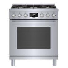 See Details - 800 Series Gas Freestanding Range 30'' Stainless steel HGS8055UC
