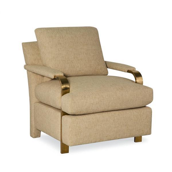 Brass Arm Chair