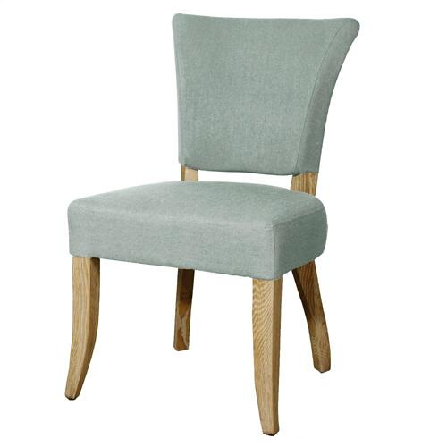 Austin Fabric Dining Side Chair, Soft Blue