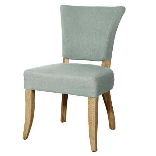 Austin Fabric Dining Chair, Soft Blue