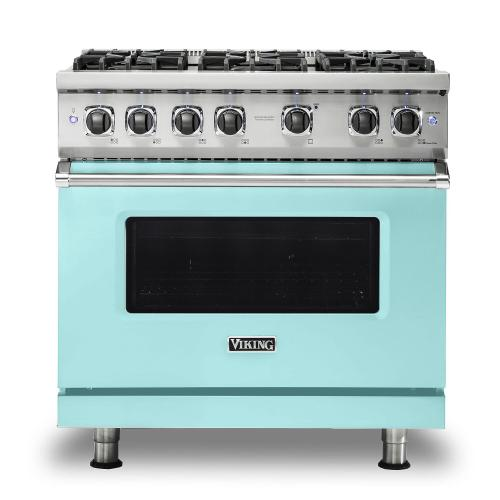 "36"" Gas Range - VGR536 Viking 5 Series"