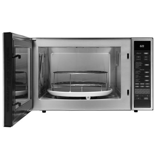 "24"" Convection Microwave, Silver Stainless Steel"