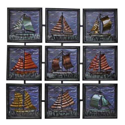 Metal Sailboat Panels