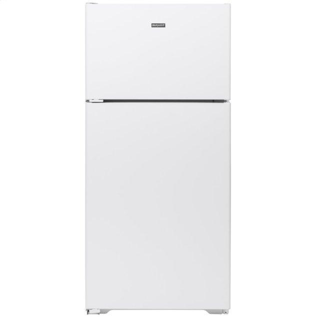Hotpoint Hotpoint® 15.6 Cu. Ft. Recessed Handle Top-Freezer Refrigerator