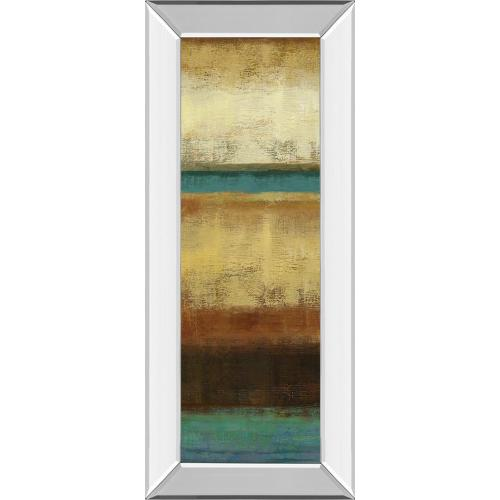 """""""Earth"""" By Allison Pearce Mirrored Framed Print Wall Art"""