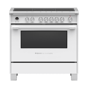 "Induction Range, 36"", 5 Zones with SmartZone, Self-cleaning Product Image"