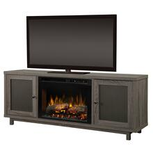 See Details - Jesse Media Console Electric Fireplace - XHD Firebox