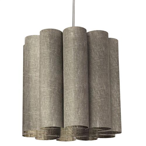 1lt Sandra Pendant Milano Greypolished Chrome