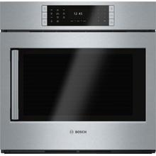 View Product - Benchmark® Single Wall Oven 30'' Door hinge: Right, Stainless steel HBLP451RUC