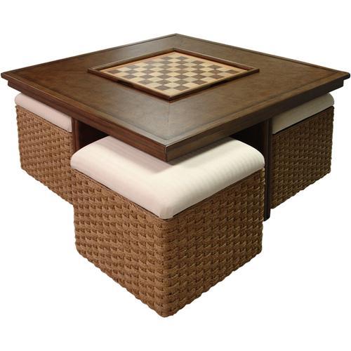 Capris Furniture - 739 Hassock Game Table