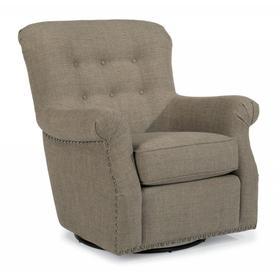 Hopkins Fabric Swivel Chair