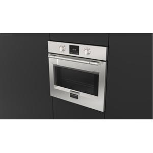 "Fulgor Milano30"" Pro Single Oven - Stainless Steel"