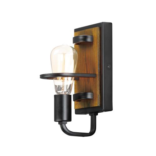 Black Forest 1-Light Wall Sconce