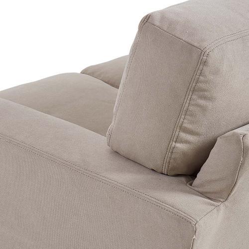 Gallery - Sierra Sofa w/ New Lily Fog Fabric