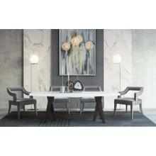 View Product - Tiffany Grey Velvet Chair
