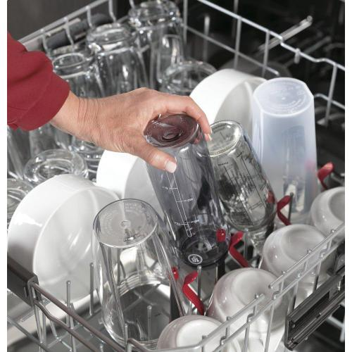 GE Profile™ Stainless Steel Interior Fingerprint Resistant Dishwasher with Hidden Controls