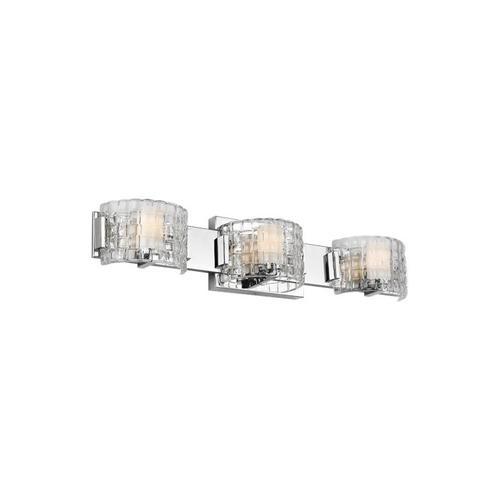 Brinton 3 - Light Vanity Chrome Bulbs Inc