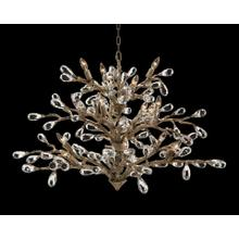 See Details - Budding Crystal Sixteen-Light Chandelier