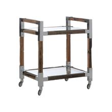 See Details - Rustic Glam Bar Cart-small