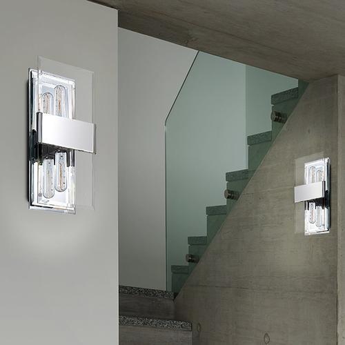 Sonneman - A Way of Light - Mercer Street Double Sconce [Color/Finish=Satin Black]