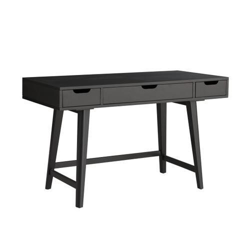Accentrics Home - Mid-Century Writing Desk - Black