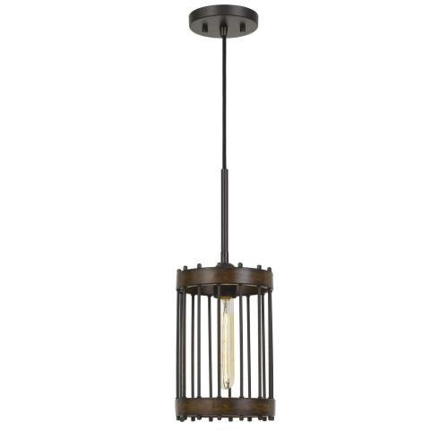Cal Lighting & Accessories - Cantania 60W Metal Pendant Fixture (Edison Bulbs Not included)